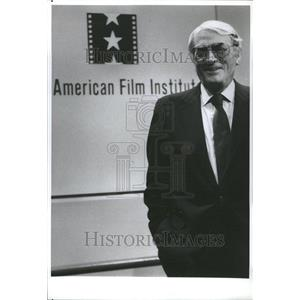 1989 Press Photo Eldred Gregory Peck Jerry Buck Los