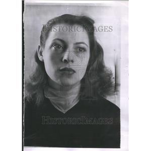1958 Press Photo Veronique Passani Actress Paris