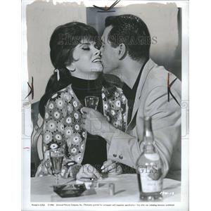 1965 Press Photo Gina Lollobrigida Roch Hudson Actress