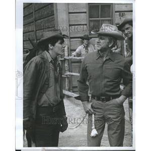 1969 Press Photo Tim Matheson Lesslie Nielsen Actor