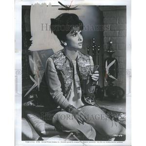 1965 Press Photo Gena Lollobrigida