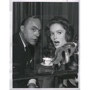 "1965 Press Photo Charles Boyer and Quinn O'Hara ""The Ro"