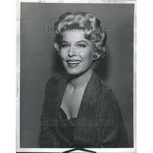 1961 Press Photo Jean Willes Actress