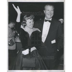 1965 Press Photo Dich Powell  Wife Actress