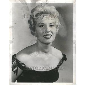 1960 Press Photo Jean Willes Belle Star Maverick ABC-TV