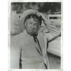 1966 Press Photo Chill Wills