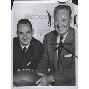 1956 Press Photo Harold Edward Red Grange Chicago Bears