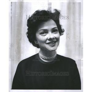 1959 Press Photo Kathryn Grayson Actor Singer Carolina - RRR75617