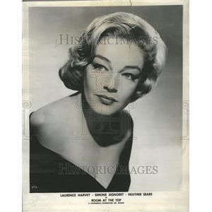 1960 Press Photo Room Actress Globe Film FestivalCinema