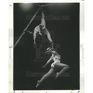 1977 Press Photo Gymnastics Marina Larissa Petrova