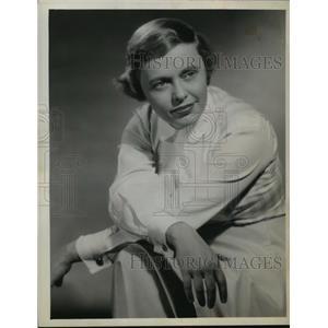 1958 Press Photo Pat Carroll, actress.
