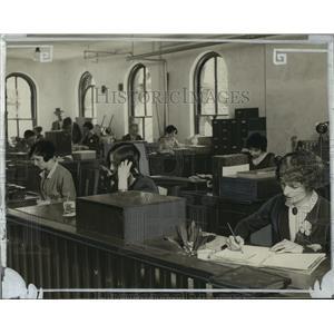1926 Press Photo Wisconsin News Circulation Department