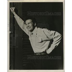 1958 Press Photo Philip Kenneally stars in Damn Yankees.