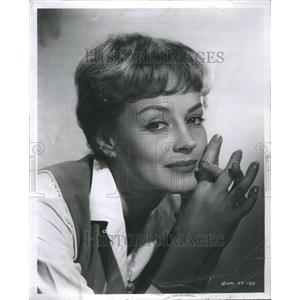 1960 Victoria Shaw Press Photo