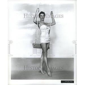 1954 Press Photo Actress Onitra Stevens - RRR78335