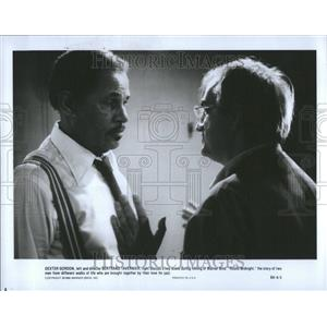1987 Press Photo Dexter Gordon Actor Jazz Saxphonist