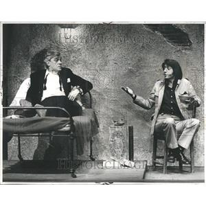 1973 Press Photo Paul Scofield English Actor Savages