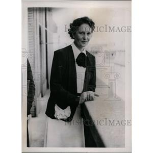 1938 Press Photo actress Nora Gregor, bride of Prince Von Starhemberg of Austria