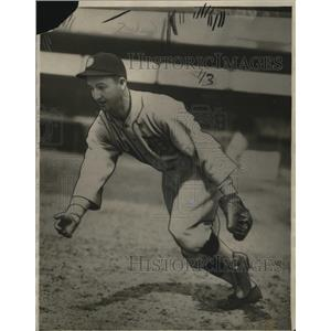 1928 Press Photo New Indian shortstop Jack Tavener - cvb77303