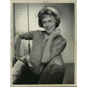 1959 Press Photo Frances Bergen stars in Yancy Derringer. - mjx19545