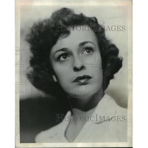 1944 Press Photo Eileen Heckart, actress. - mjx19956