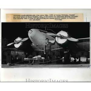 Medford Ore File photo (Feb 1978_ of George Milligan founder of Mercy Flights