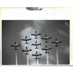 1993 Press Photo Portland Rose Festival Air Show - orb50609