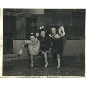 1938 Press Photo Hedwigh Shroyer, Eolyne Y. Nichols