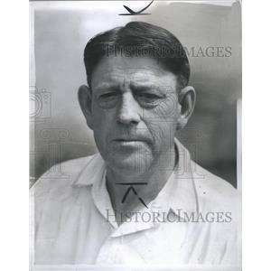 1937 Press Photo Denny Carroll Trainer Detroit Tiger