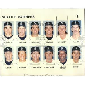 1996 Press Photo Seattle Mariners