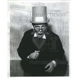 1966 Press Photo Christmas Carol Millar Theatre Scrooge - RRR13775