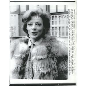 1969 Press Photo Oscar Winner British Maggie Smith - RRR13879
