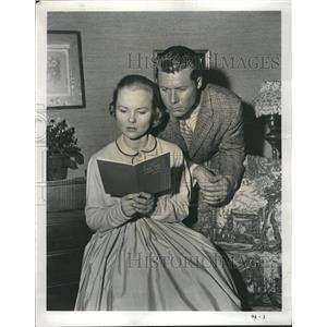 1958 Press Photo Wandra Hendrix John Smith