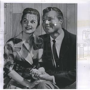 1959 Press Photo Luana Patten Smith Robert Van Orden