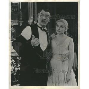 1957 Press Photo Walter Pidgeon Actor