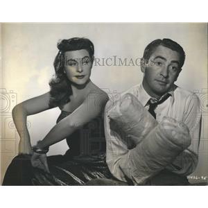 1948 Press Photo Paulette Goddard & McDonald Carey - RRR19769