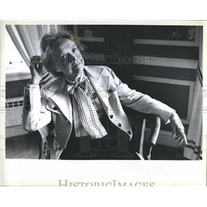 1978 Press Photo Lillian Diana Gish Actress