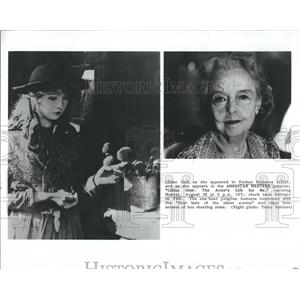 1989 Press Photo Lillian Gish in 1919 Broken Blossoms