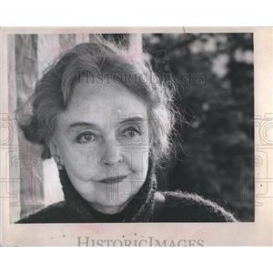 1973 Press Photo Lillian Gish Actress United States