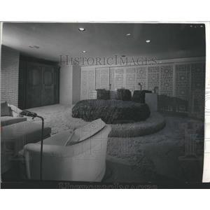1973 Press Photo Home of Jackie Gleason