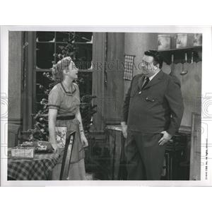 1990 Press Photo Jackie Gleason and Audrey Meadows