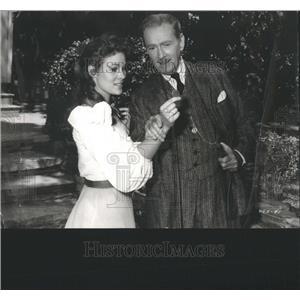 1959 Press Photo Jill St. John Clifton Webb Actors