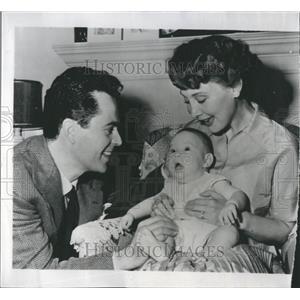 1950 Press Photo Larry Parks Actor United States - RRR30835