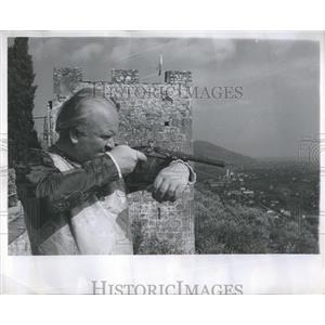 1956 Press Photo Entertainment