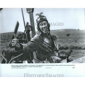 1982 Press Photo Bruce Spence Road Warrior Gyro