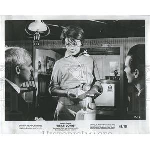 1966 Press Photo Dear John Christina Schollin Sweden