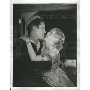 1928 Press Photo Lloyd Hughes and Mae Murray Movie