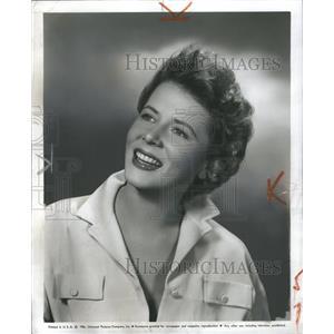 1957 Press Photo Cornell Borchers German Actress