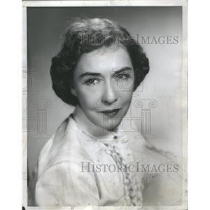 1956 Press Photo Dorothy Gish Actress Sun Stage