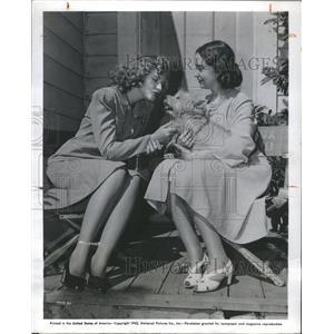 1944 Press Photo Lillian Gish